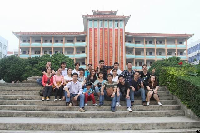 柳州高中学校风景图片